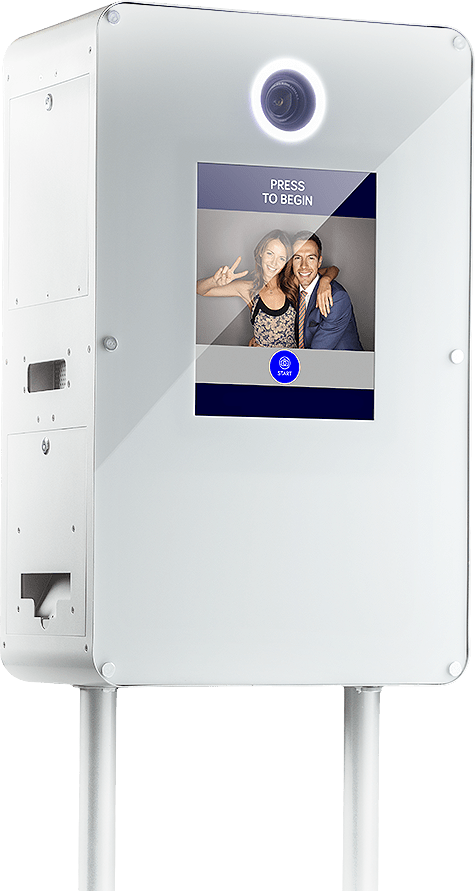 Selfie Booth S4® Turnkey with Printer   Portable Photo Booth for Sale